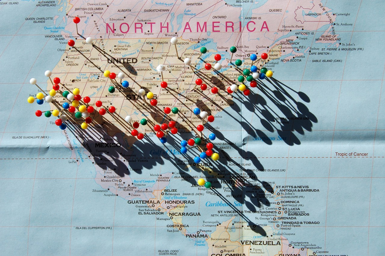 Mapy zdrapki jako idealna propozycja na prezent
